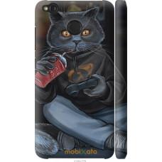 Чехол на Xiaomi Redmi 4X gamer cat