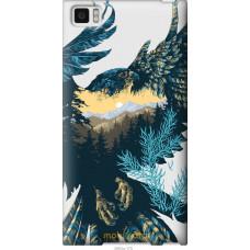 Чехол на Xiaomi Mi3 Арт-орел на фоне природы