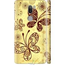 Чехол на Xiaomi Mi 5s Plus Рисованные бабочки