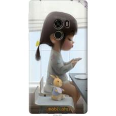 Чехол на Xiaomi Mi MiX Милая девочка с зайчиком