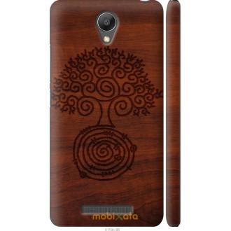 Чехол на Xiaomi Redmi Note 2 Узор дерева
