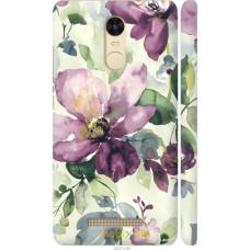 Чехол на Xiaomi Redmi Note 3 Акварель цветы