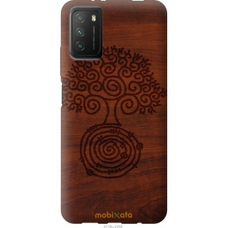 Чехол на Xiaomi Poco M3 Узор дерева