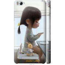 Чехол на Xiaomi Mi4c Милая девочка с зайчиком