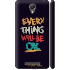Чехол на Xiaomi Redmi Note 2 Everything will be Ok