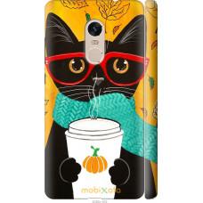 Чехол на Xiaomi Redmi Note 4 Осенний кот