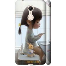 Чехол на Xiaomi Redmi 5 Милая девочка с зайчиком