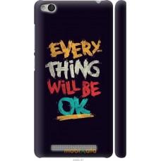 Чехол на Xiaomi Redmi 3 Everything will be Ok
