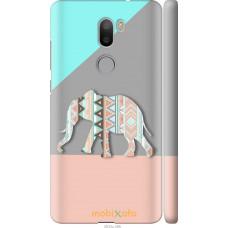 Чехол на Xiaomi Mi 5s Plus Узорчатый слон