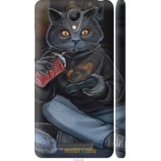 Чехол на Xiaomi Redmi Note 2 gamer cat