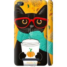 Чехол на Xiaomi RedMi 4A Осенний кот