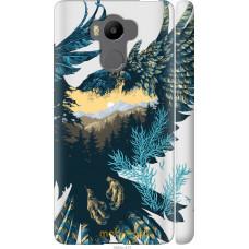 Чехол на Xiaomi Redmi 4 Prime Арт-орел на фоне природы