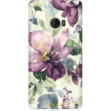 Чехол на Xiaomi Mi Note 2 Акварель цветы