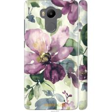 Чехол на Xiaomi Redmi 4 pro Акварель цветы
