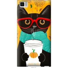 Чехол на Xiaomi Mi3 Осенний кот