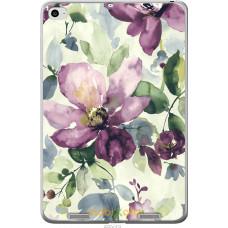 Чехол на Xiaomi Mi Pad 2 Акварель цветы