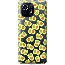 Чехол на Xiaomi Mi 11 Весёлые авокадо