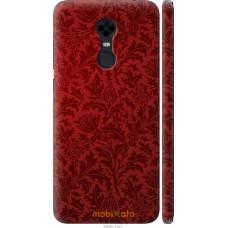Чехол на Xiaomi Redmi 5 Plus Чехол цвета бордо