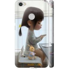 Чехол на Xiaomi Redmi Note 5A Prime Милая девочка с зайчиком