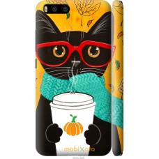 Чехол на Xiaomi Mi6 Осенний кот