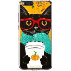 Чехол на Xiaomi Mi Note 3 Осенний кот