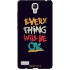 Чехол на Xiaomi Redmi Note Everything will be Ok