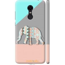 Чехол на Xiaomi Redmi 5 Plus Узорчатый слон