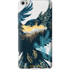 Чехол на Xiaomi Mi Note Арт-орел на фоне природы