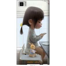 Чехол на Xiaomi Mi3 Милая девочка с зайчиком