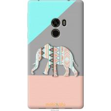 Чехол на Xiaomi Mi MiX Узорчатый слон