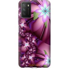 Чехол на Xiaomi Poco M3 Цветочная мозаика