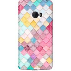 Чехол на Xiaomi Mi Note 2 Красочная черепица
