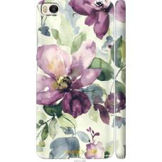 Чехол на Xiaomi Mi 5s Акварель цветы