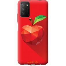Чехол на Xiaomi Poco M3 Яблоко