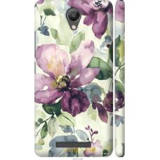 Чехол на Xiaomi Redmi Note 2 Акварель цветы