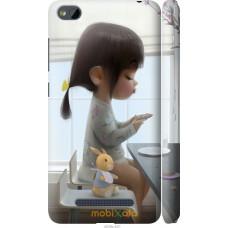 Чехол на Xiaomi RedMi 4A Милая девочка с зайчиком