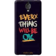 Чехол на Xiaomi Mi4 Everything will be Ok