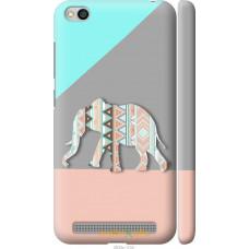Чехол на Xiaomi Redmi 5A Узорчатый слон
