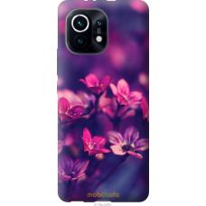 Чехол на Xiaomi Mi 11 Пурпурные цветы