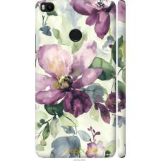 Чехол на Xiaomi Mi Max 2 Акварель цветы