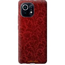 Чехол на Xiaomi Mi 11 Чехол цвета бордо