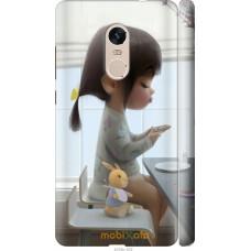 Чехол на Xiaomi Redmi Note 4 Милая девочка с зайчиком
