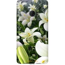 Чехол на Xiaomi Mi Note 2 Лилии белые