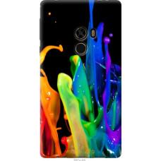 Чехол на Xiaomi Mi MiX брызги краски