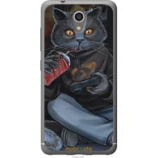 Чехол на ZTE A510 gamer cat